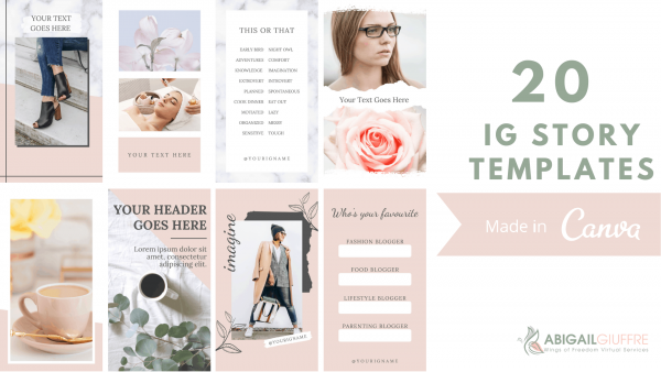 20 instagram story templates for canva1